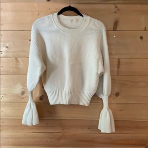 Moth ivory sweater size small